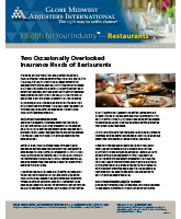 Two Overlooked Insurance Needs of Restaurants - Insights for Your Industry