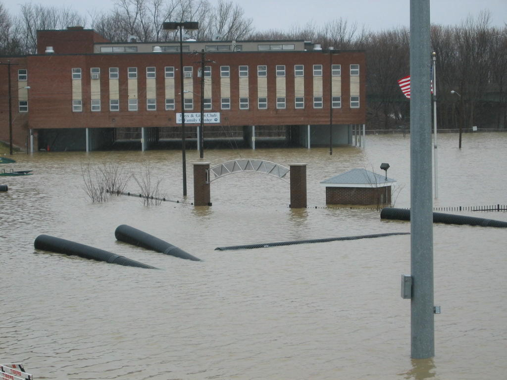 Flooding at School