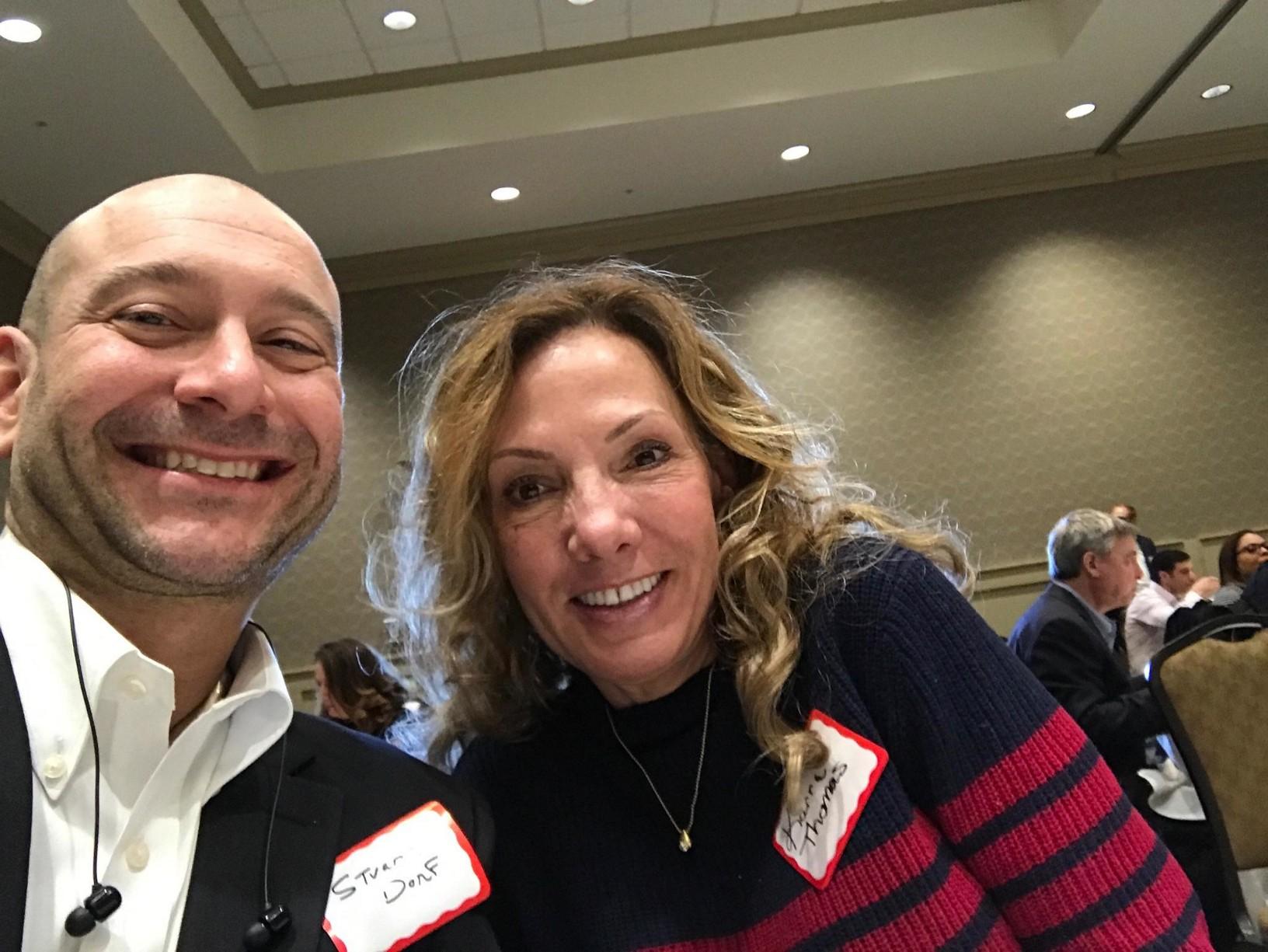 Stuart Dorf and Karrie Thomas