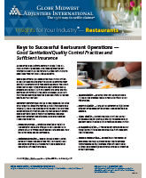 Keys to Successful Restaurant Operations - Insights for Your Industry